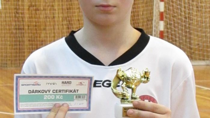 nejlepší hráč Jan Gahír - Kaplice