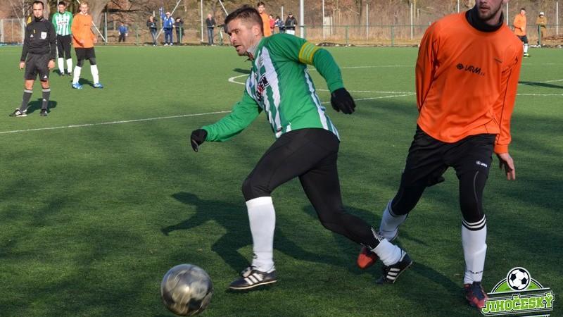 Kapitán Boršova Jan Gruber přidal důležitý třetí gól.