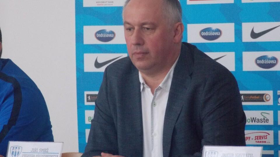 Jiří Smrž nastínil plány na jaro.