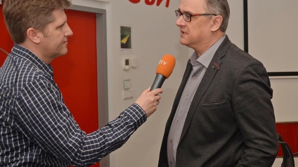 Zdeněk Zuntych odpovídá na otázky Martina Štěpánka.