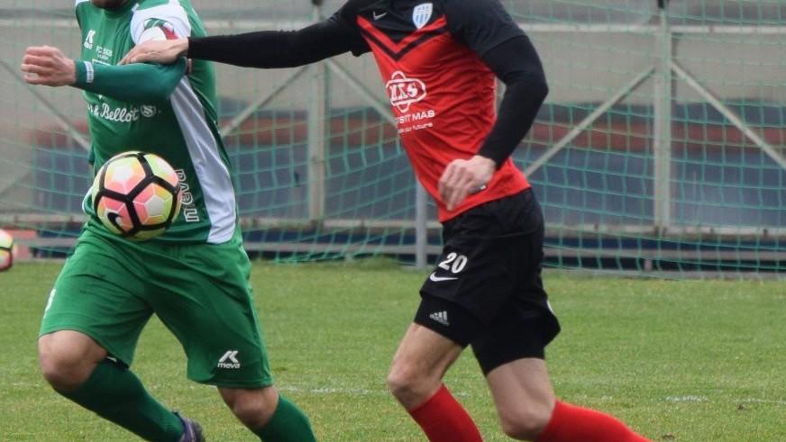 Petr Javorek si zahrál první půli.
