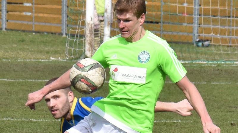 Petr Janda zaznamenal svůj pátý gól v barvách Čížové.