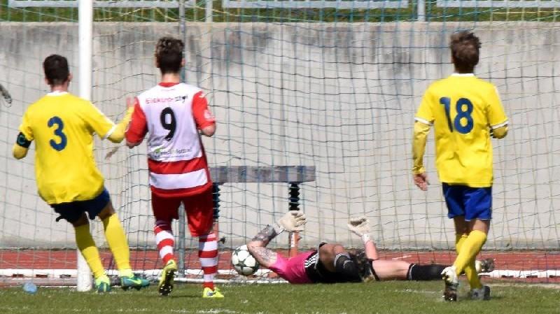 Michal Švejda snížil na rozdíl jediného gólu.
