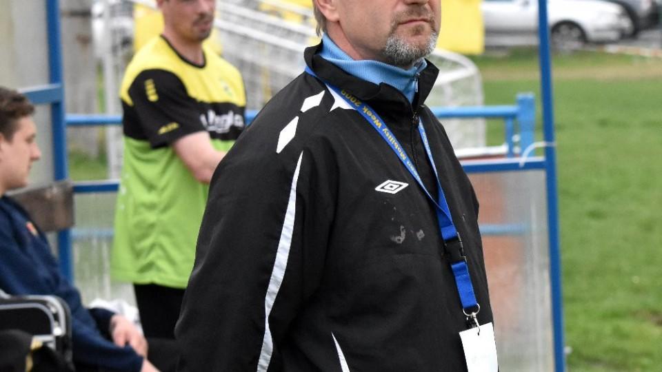 Trenéra Oseku Jaroslav Voříšek mohl být do 70. minuty, kdy jeho tým stále vedl 3:0, ještě v klidu.