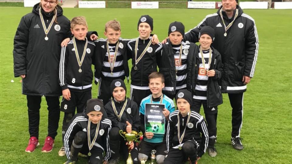 SK Dynamo U10 získal na severu Čech 2. místo