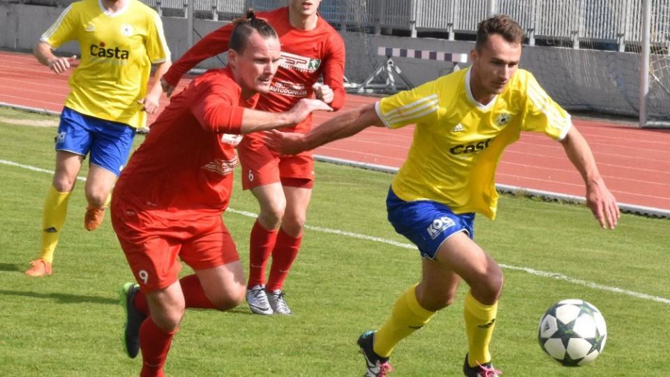 Martin Voráček dvakrát uklidil míč do sítě Převýšova. Nevyšel mu třetí pokus