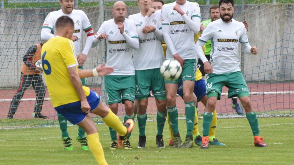 Trestný kop Aleše Kočího neměl gólové parametry.