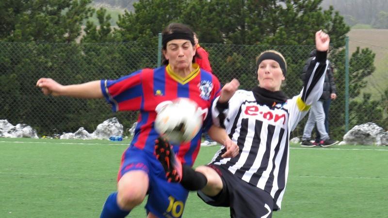 První gól daly borovanské fotbalistky, ale body odjely do Kaplice