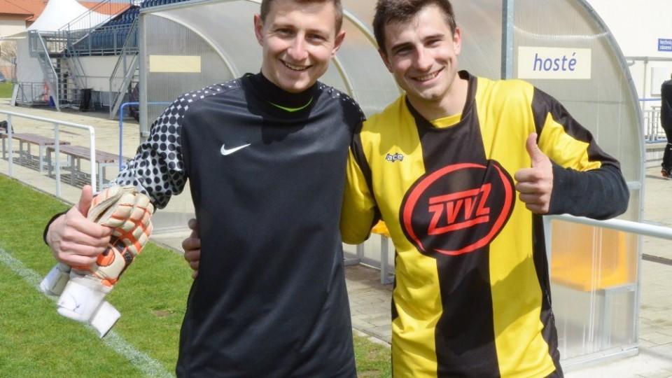 S mladším bratrem Pavlem po výhře v minulé sezoně v Třeboni.