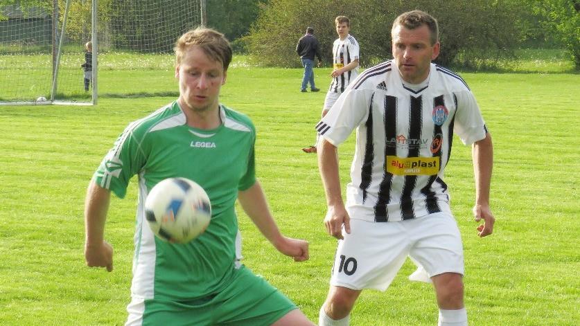 Vyšebrodské Dynamo utržilo v Kaplici dvanáct gólů, osm od Lesňáka!