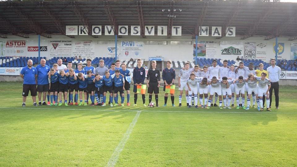 Stadion na Soukeníku viděl kvalitní mezinárodní utkání