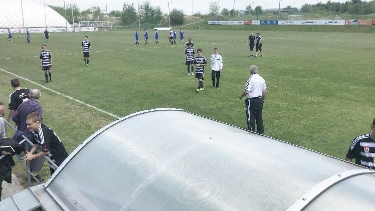 Dorostenci Dynama porazili Sigmu Olomouc 3:0
