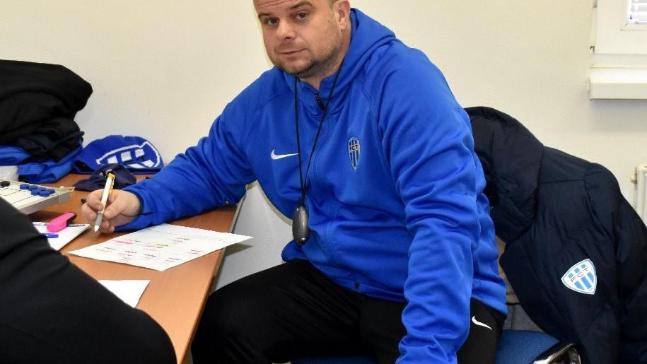 Trenér Táborska Roman Nádvorník: Na náš fotbal se dalo dívat