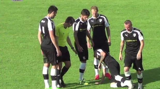 Roudné remizovalo v Sedlčanech, penaltová loterie patřila domácím