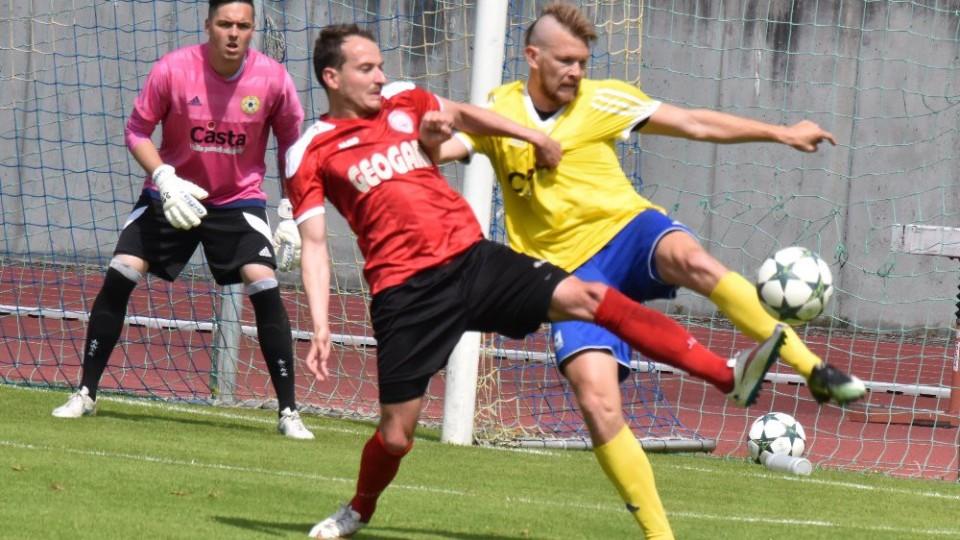 Poslední domácí zápas v jarní části ČFL rozhodli Písečtí proti Chrudimi v penaltovém rozstřelu