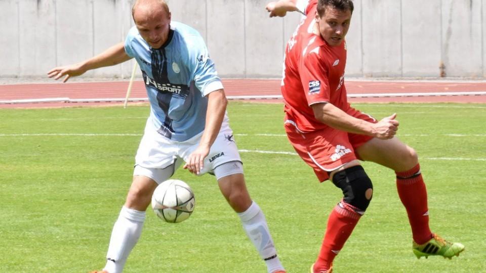 Chalupský byl u míče dřívě než domácí Pichlík.