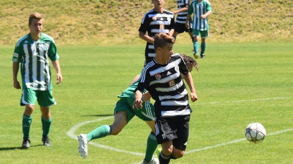 Dynamo U17 porazilo v derniéře Meteor Praha