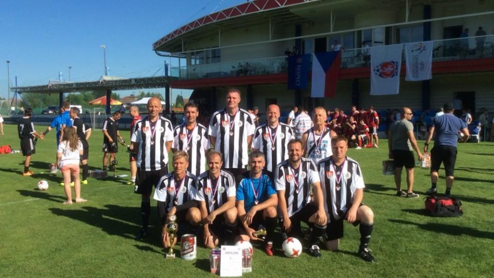 Veteráni Dynama Č. Budějovice skončili třetí na republikovém finále