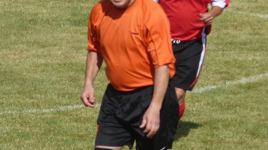Fotbalový kouč Miroslav Soukup nastoupil za Prachatice.