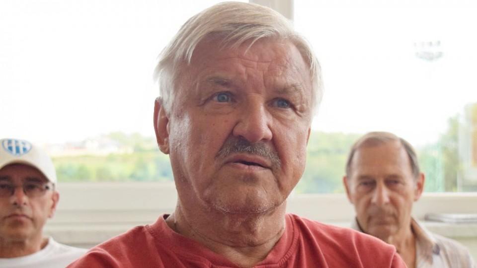 Čas na tiskovku si udělal i táborský patriot Karel Ilčík.