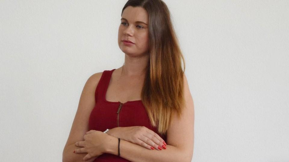 Na průběh tiskovky dohlížela Kateřina Betáková, PR FC MAS Táborsko.