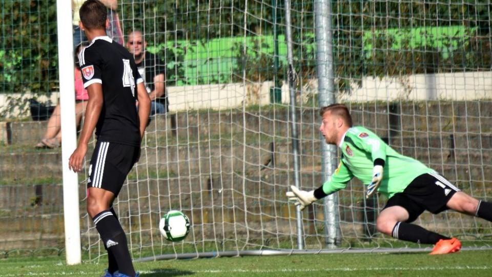 Konec v poháru, Dynamo nestačilo na Velvary