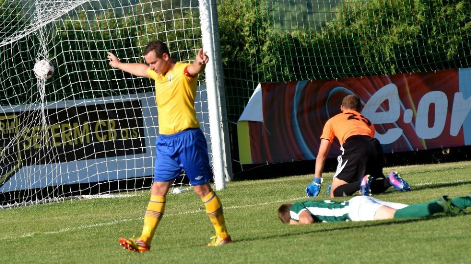 FOTO: Malšany v poháru vyučoval v zakončení Turek