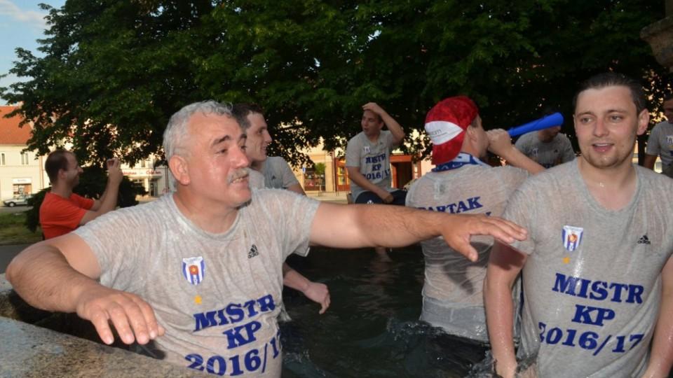 František Maršík předal funkci vedoucího mužstva Soběslavi. Divizního nováčka neopouští