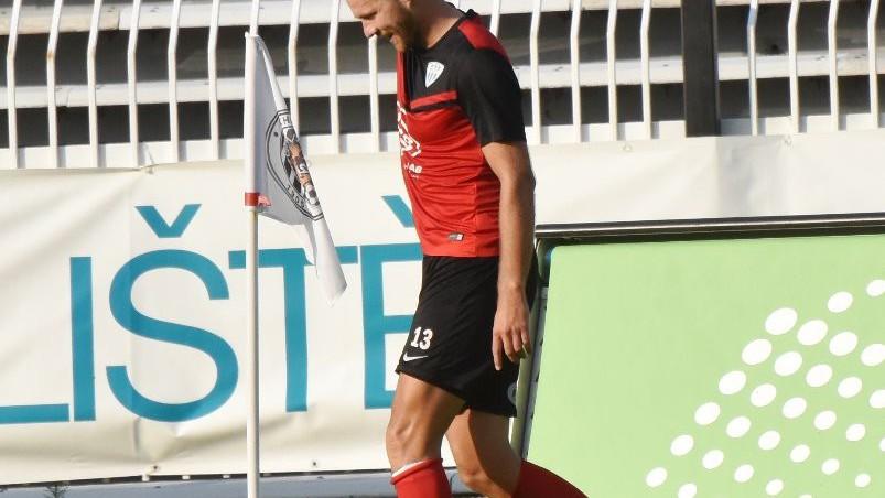 Zbyněk Musiol vsítil první gól Táborska v nové sezoně.