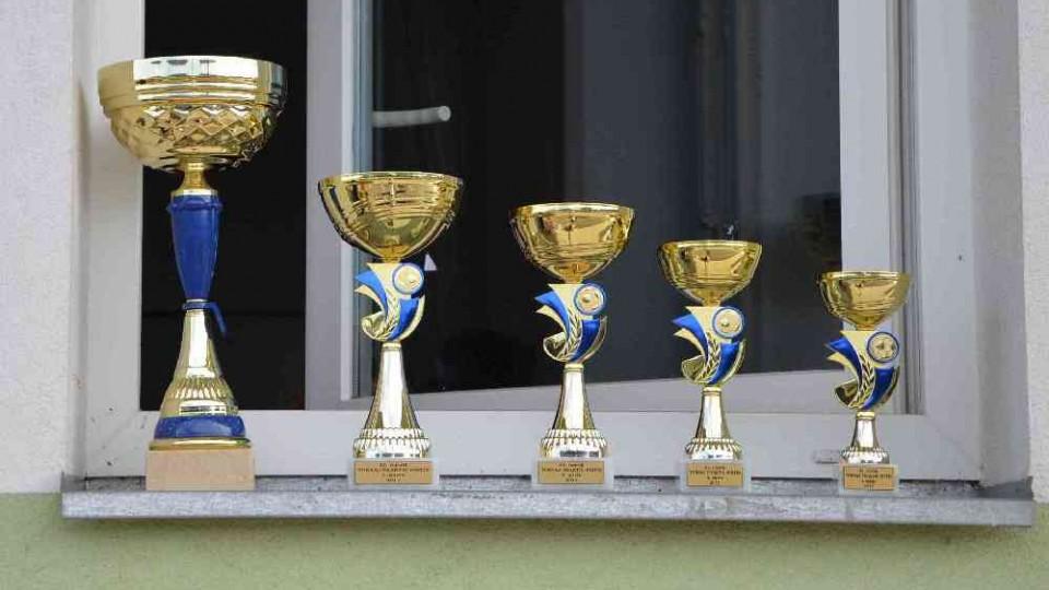 Turnajové poháry.