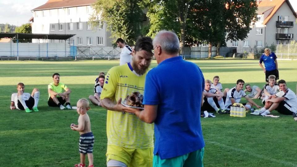 Jan Moravec získal sošku pro nejlepšího střelce turnaje.
