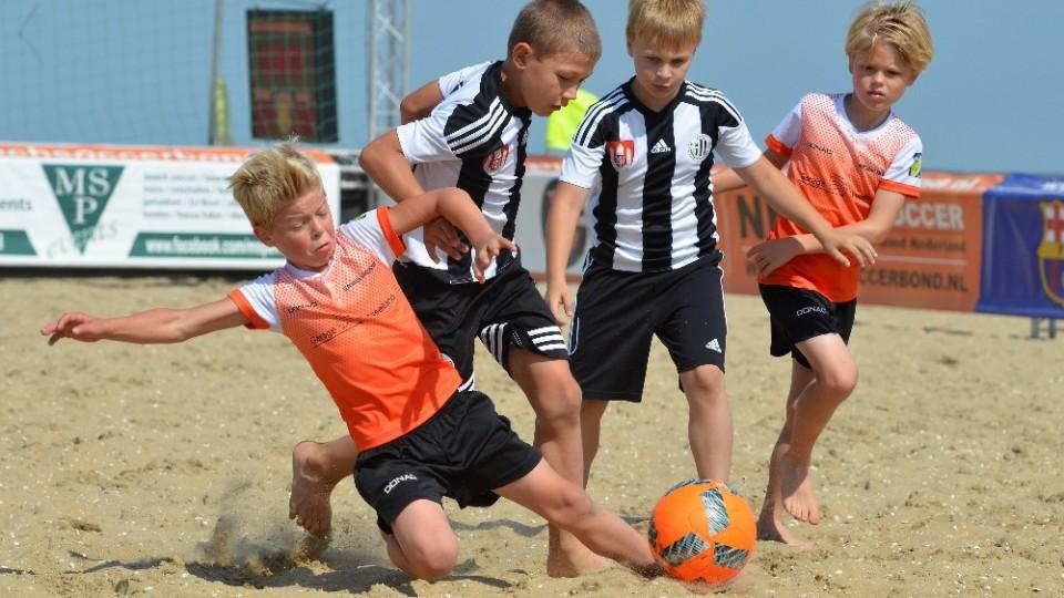 Devítiletí fotbalisté českobudějovického Dynama si užili pobyt v Nizozemsku