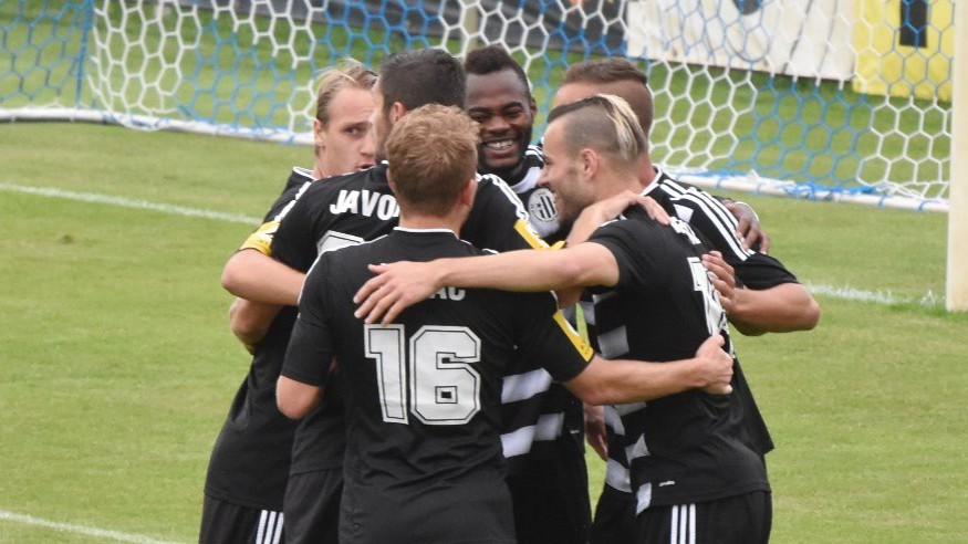 I druhý zápas venku Dynamo vyhrálo. Varnsdorf porazilo 3:2