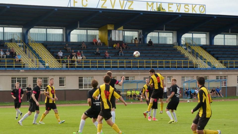 Na milevském Letním stadionu se hrálo za stálé převahy domácích.