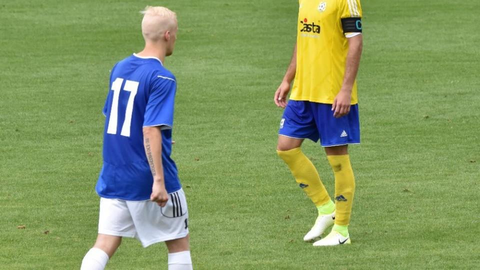 Kapitán Písku Michal Rendla pátá penaltu nedal.