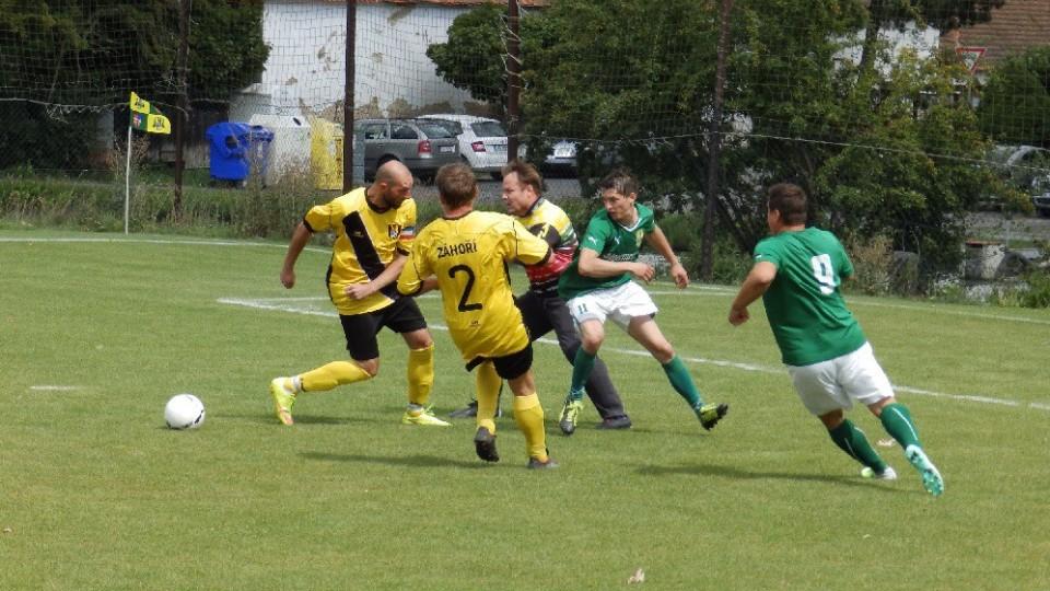 Fotbalisté Oslova zažili v závěru duelu se Záhořím velký šok