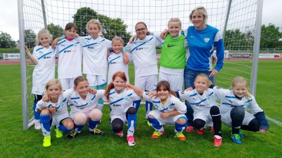 Fotbalový klub FC MAS Táborsko se rozrostl o tým dívek