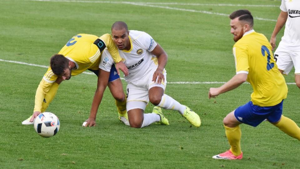 Písek ve 3. kole MOL Cupu padl se Zlínem 0:2, ale fotbalově nezklamal