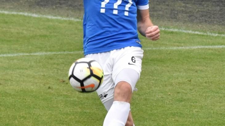 Šestadvacetiletý obránce FC MAS Táborsko Michal Hell