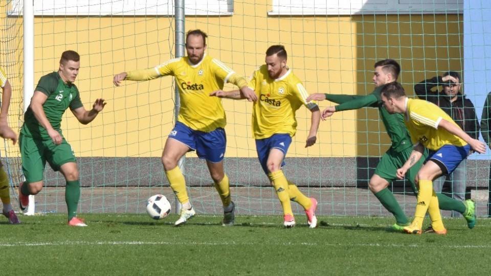 Vždycky jsme jen překopli obranu, hlásil písecký Antonín Presl, autor gólu a třech finálních přihrávek proti Nymburku