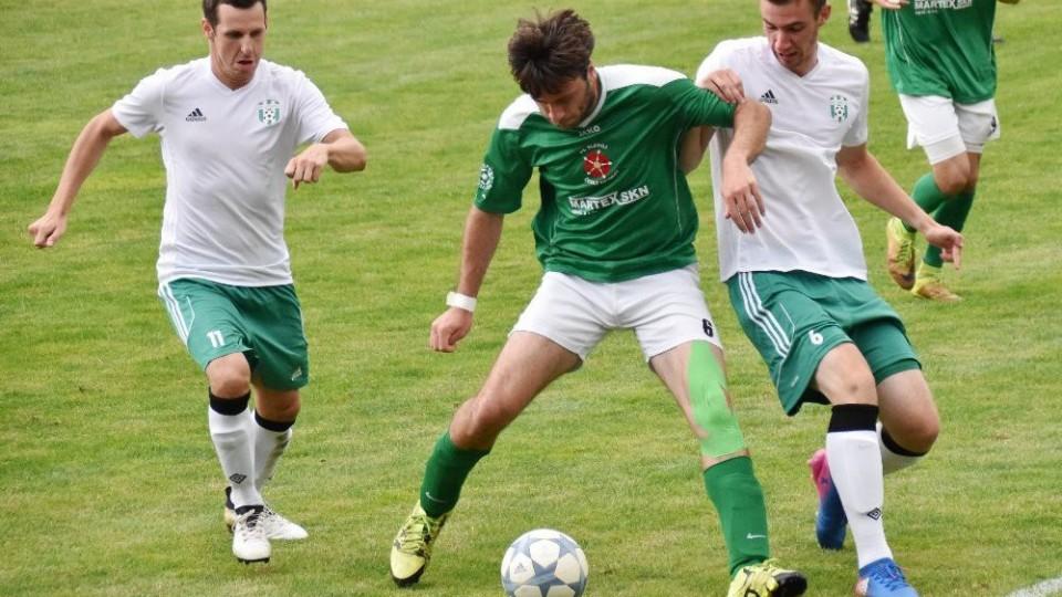 Jankov posadily na koně dva rychlé góly. Derby s Krumlovem vyhrál 3:0