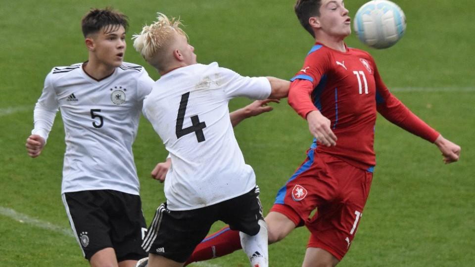 Mezistátně v Táboře: Repre U16 zdolala Německo