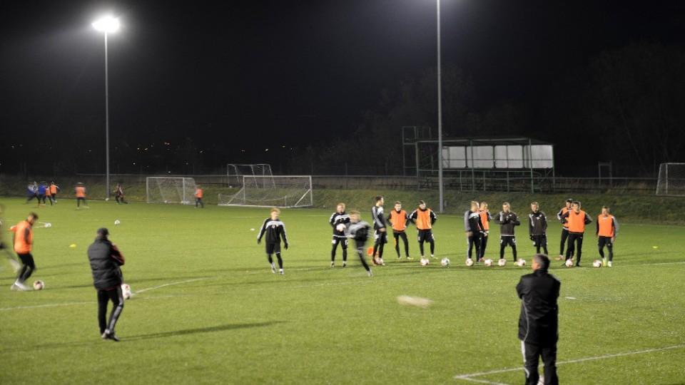 Vycházka za historií Budějovic vedla tentokrát do fotbalového centra Dynama na Složišti